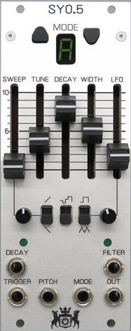 MSW - SY0.5 ANALOG DRUM MODULE