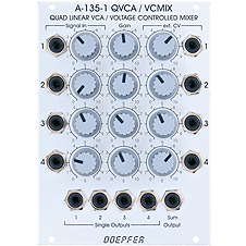 A135-1 QUAD LIN VCA / VC MIXER