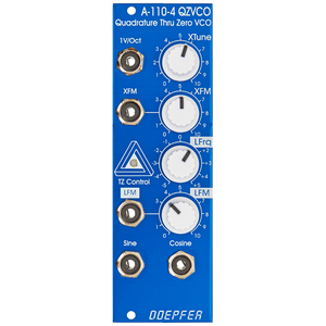 A110-4 THRU ZERO QUADRATURE VCO BLUE