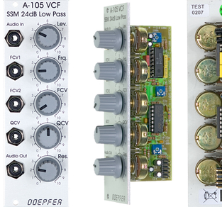 A105 SSM FILTER 24dB LOW PASS (POLY6, PPG, SEQUENTIAL)