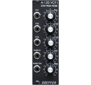A120 24dB LOW PASS FILTER MOOG VE