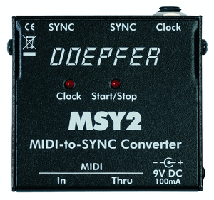 MIDI TO SYNC24 CONVERTER W PSU