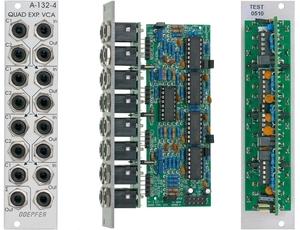 A132-4 QUAD EXPONENTIAL VCA / MIXER