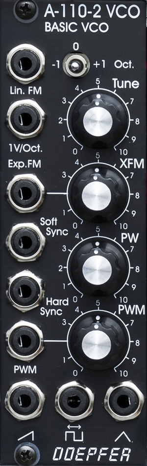 A110-2 BASIC VCO WITH LIN FM & SYNC VE