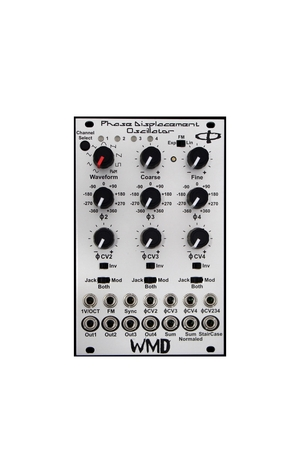WMD PHASE DISPLACEMENT OSCILLATOR MK2