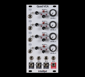 INTELLIJEL DESIGNS - QUAD VCA