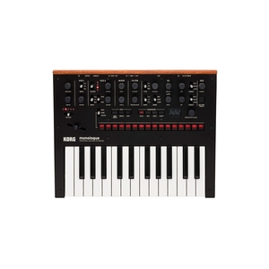 KORG MONOLOGUE MONOPHONIC ANALOGUE SYNTHESIZER (BLACK)